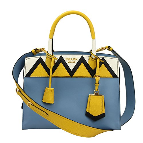 Prada-Blue-Leather-Tote-Bag-With-Shoulder-Strap-1ba046-Astralsoleil