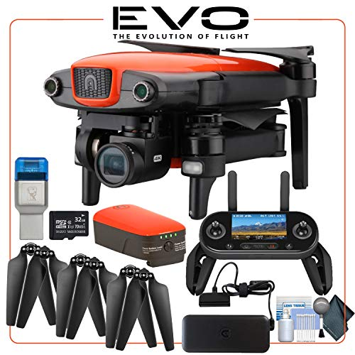 Autel EVO 4K Collapsible Quadcopter Drone Standard Bundle