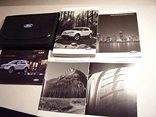 2013 ford explorer owners manual ford amazon com books rh amazon com ford explorer 2014 manual ford explorer 2014 manual