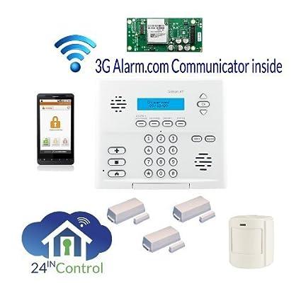 amazon com ge simon xt wireless alarm system with interactive rh amazon com GE Security Pro Manual GE Security Camera