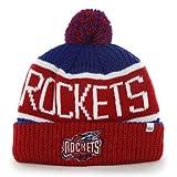 "Houston Rockets Vintage Red Cuff ""Calgary"" Beanie"