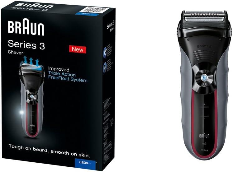 Braun Series 3 320S 4 - Afeitadora eléctrica: Amazon.es: Salud y cuidado personal