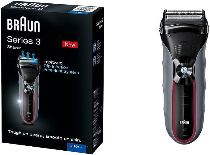 Braun Series 3 320S 4 - Afeitadora eléctrica: Amazon.es: Salud y ...