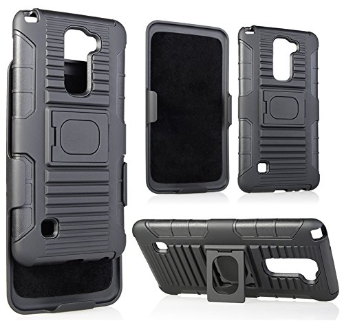 official photos 22235 68731 Amazon.com: LG STYLO 2 Belt Clip, NAKEDCELLPHONE Black Grip Ring ...