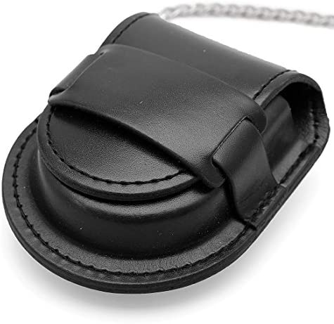 Watch Boxes Vintage Black Pu Leather Bag for Watch Watches Chain Pouch Holder Watches Storage Case Box