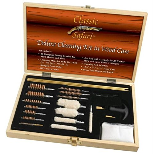 Classic Safari Smooth Action Universal Firearm Cleaning Kit