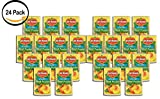 PACK OF 24 - Del Monte Lite Sliced Peaches, 15.0 OZ