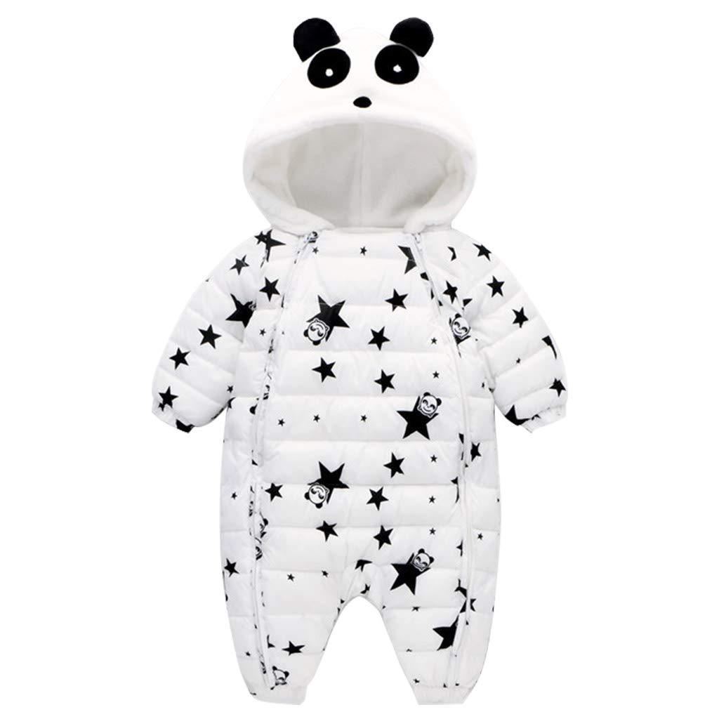 Baby Snowsuit Hoodie Romper Winter Jumpsuit Panda Pajamas Zipper Outwear Vine Trading Co. Ltd K180807PF004V