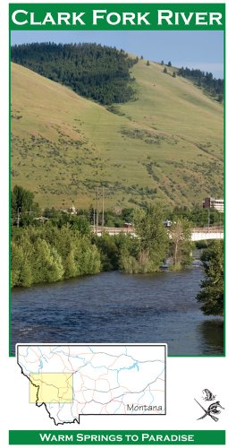Clark Fork River 11x17 Fly Fishing Map ()