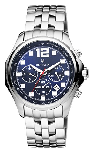 ORPHELIA La Grande Men's Silver Stainless steel watch-OR82700