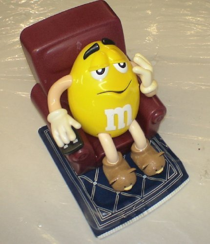 M & M s M&m Candy Dispenser (Loose, No Package) : Recliner