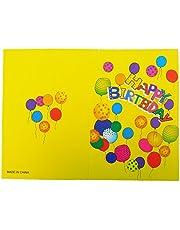 Toyland Pack of 24 Children's Happy Birthday Party Invites with Envelopes