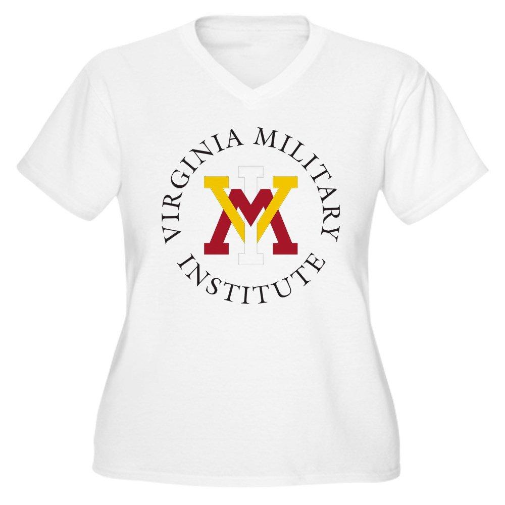175179f09ad Amazon.com  CafePress - Virginia Military - Women s Plus Size V-Neck T-Shirt   Clothing