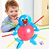 Harpi Puzzle Games Toy Boom Balloon Board Fun Multiplayer Game Stick Indoor Refills Toys for Kids Children (Multicolor)