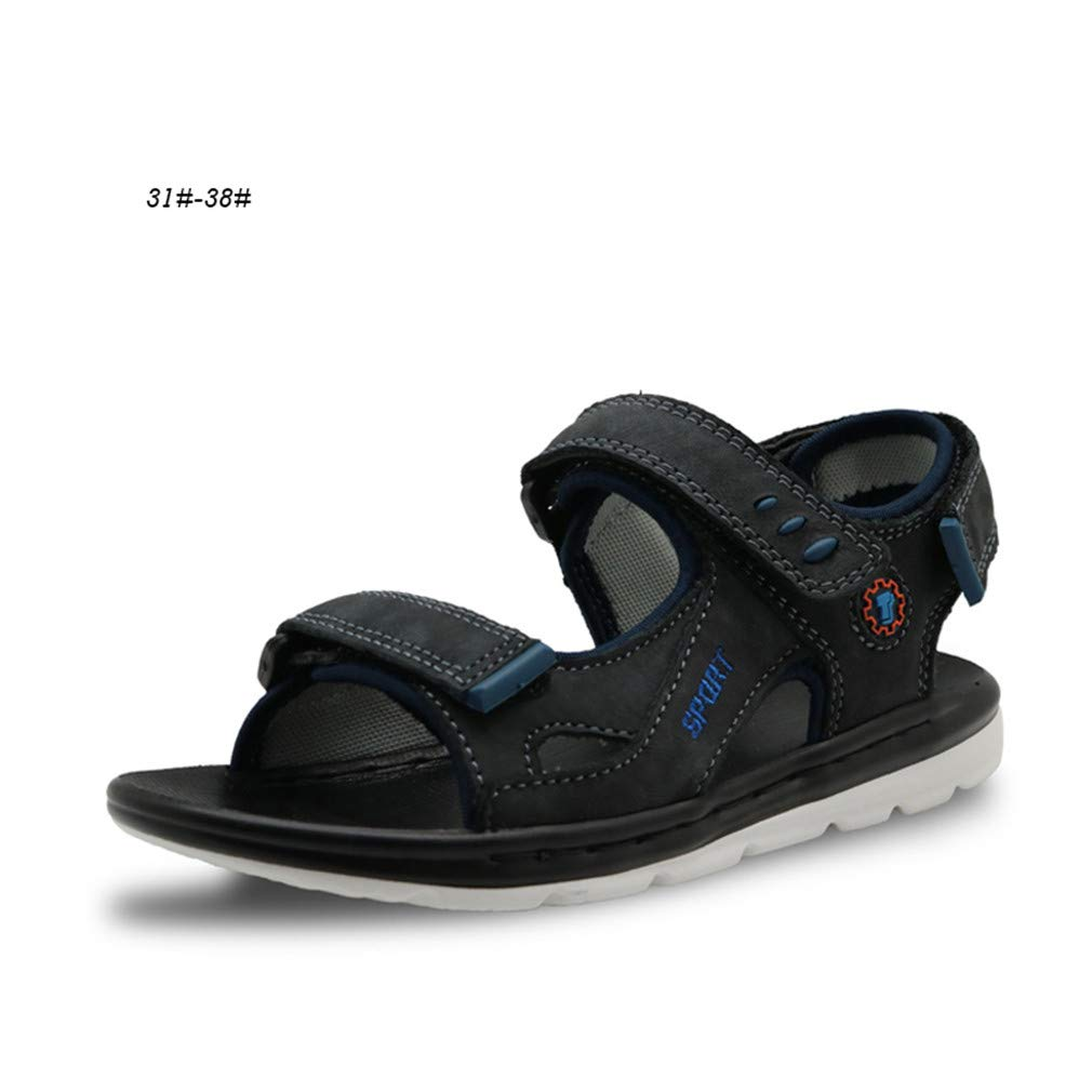 Leather Boys Sandals Summer New Children Shoes