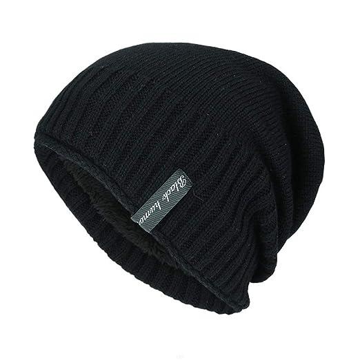 40205bc8be2 Beanie Hats Unisex Womens Winter Beanies GADIEMKENSD Slouchy Beanie Women  Wool Hat WarmWooly Beanies Men Hats