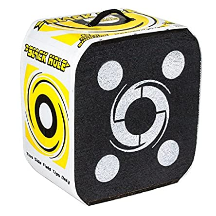 Black Hole – 4 Sided Archery Target – Stops...