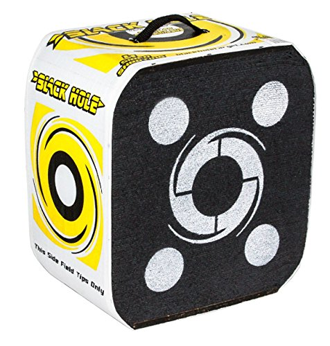 Black Hole 22 - 4 Sided Archery Target (Best Archery Block Target)