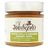 Joe & Seph's Toffee Apple & Cinnamon Caramel Sauce 230g (Pack of 4)