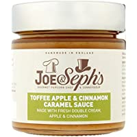 Joe & Seph's Toffee Apple & Cinnamon Caramel Sauce 230g (Pack of 4)