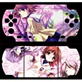 Clannad Design Decorative Protector Skin Decal Sticker for PSP 3000