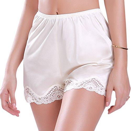 Ilusion Classic Daywear Short Slip Beige (Silk Bloomers)