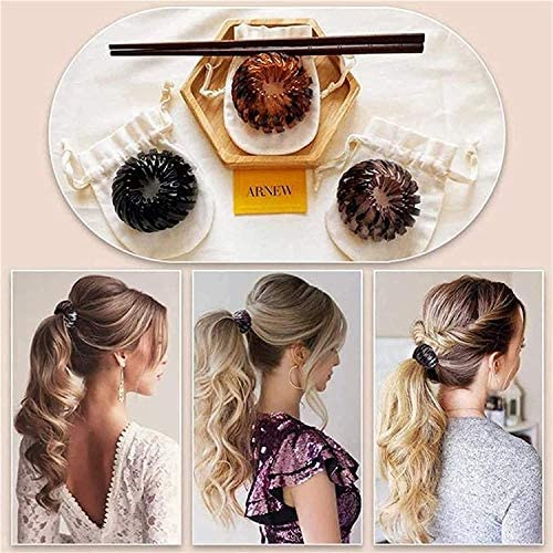 Ponytail Hairpin Curling Iron 2PS
