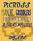 Picross, Hanjie, Griddlers, Nonograms: 130 Puzzles, Dj Ape, 1440459789