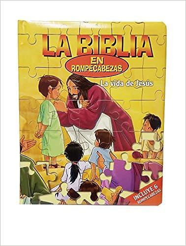 La Vida de Jesús-La Biblia en Rompecabezas Juegos de Niños ...