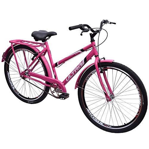 Bicicleta Barra Circular Poty Wave Urbana V-brake Rosa
