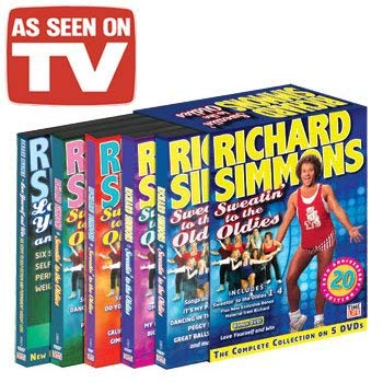 Richard Simmons DVD Set - As Seen On TV