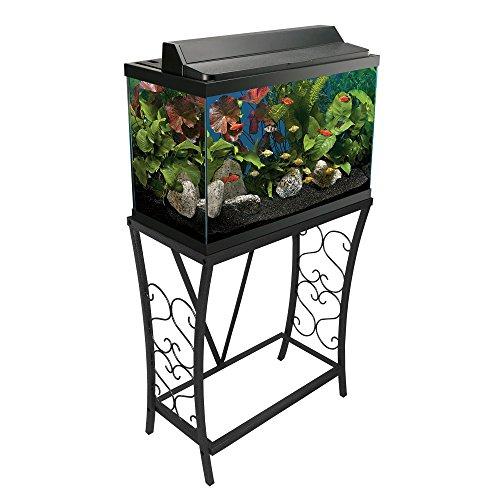 Review Aquatic Fundamentals 55 gallon Scroll Aquarium Stand