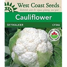 Cauliflower Seeds - Skywalker F1 Organic