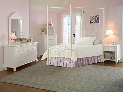 hillsdale-westfield-canopy-bed-twin-rails-nightstand-dresser-mirror-and-chest