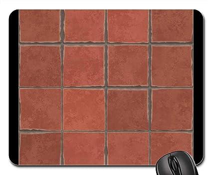 Amazon Com Mouse Pads Terracotta Tiles Spanish Tile Hand