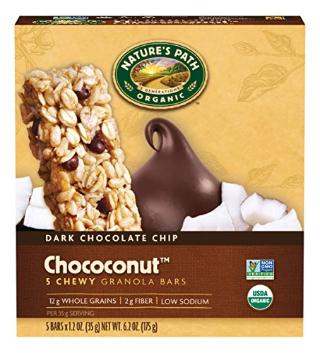 natures-path-organic-chewy-granola-bars-dark-chocolate-chip-chococonut-62-ounce-box-pack-of-6