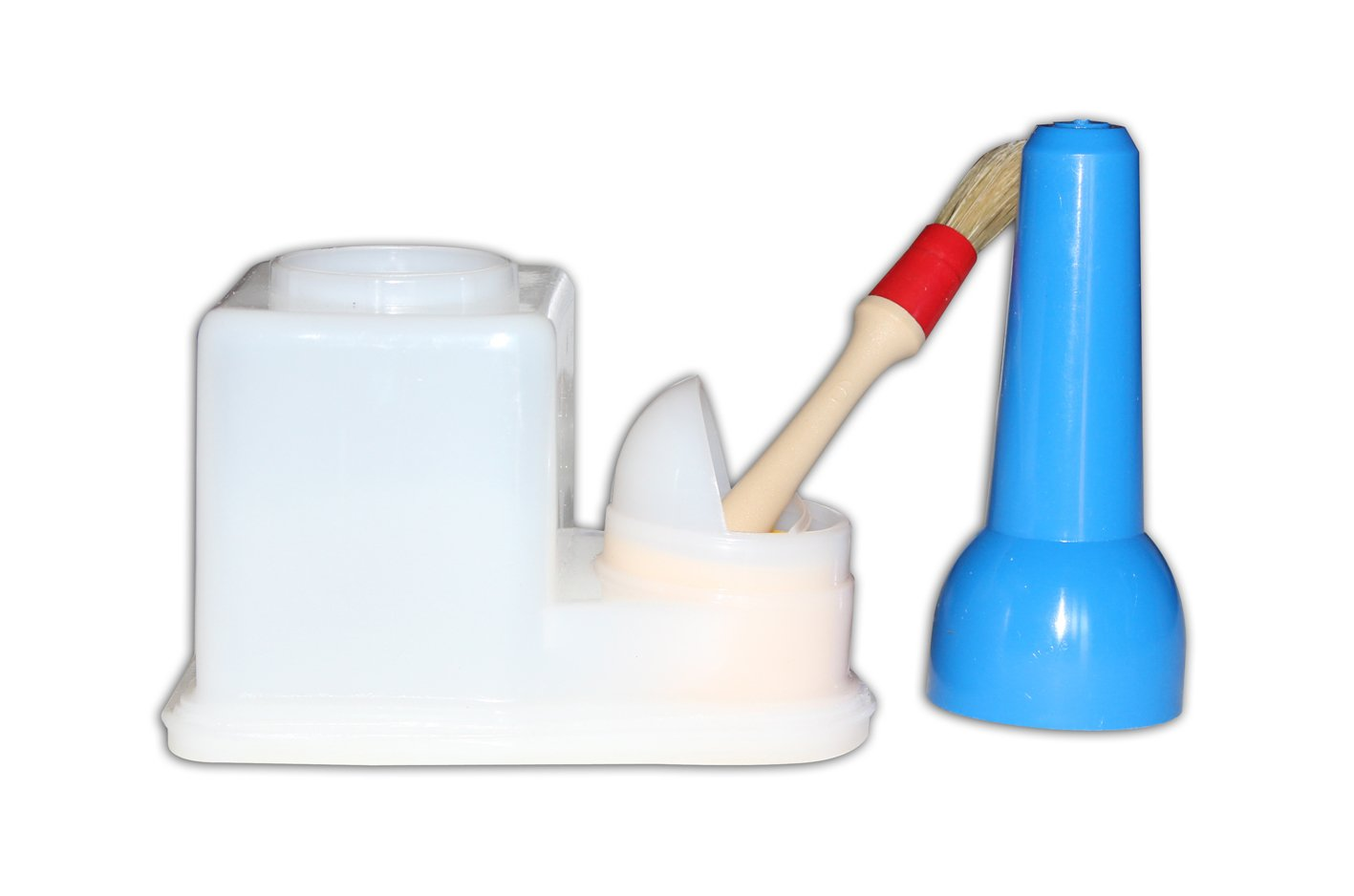Contenitore per colla con pennello porta mastice cere coloranti appretti, Dimensione: Minor MG