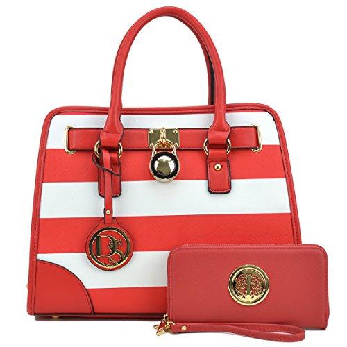 Red Designer Handbags - 9