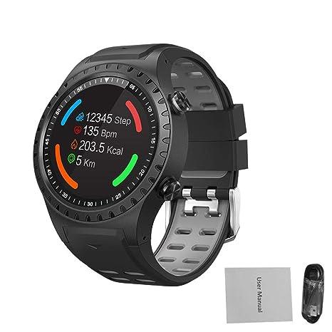 iBaste-ES Reloj Digital para Hombres Relojes Inteligentes con Bluetooth SMA-M1 GPS Deportes