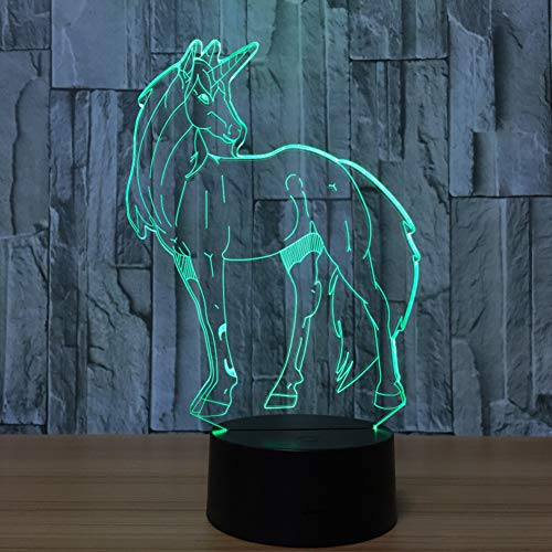 GTY TOEWR 3d Light, Colorful Remote Control Touch Led Light Creative Products Gift Night Light Usb Interface-Bluetooth Speaker by GTY TOEWR