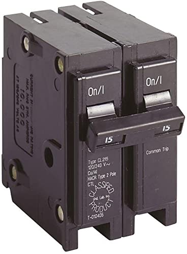 EATON GIDDS-606005 606005 Cl Series 2 Pole Classified Breaker 15 Amps