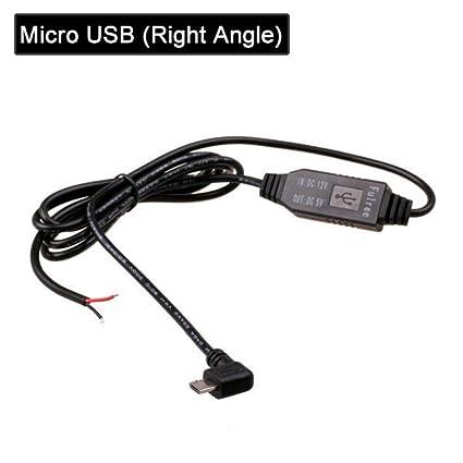 HERCHR - Cargador de coche para DVR GPS Tablet DC 12 V Cable ...