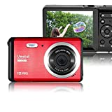 Mini Digital Camera,Vmotal 3.0 inch TFT LCD HD Digital Camera Kids Childrens Point and Shoot Digital Cameras Red-Sports,Travel,Holiday,Birthday Present