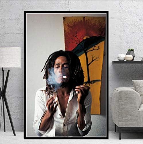 60 sans Encadr/é tgbhujk Posters et Impressions Bob Marley Chanteur /Étoile RIP Affiche Mur Art Photo Toile Peinture pour Chambre Home Decor 42