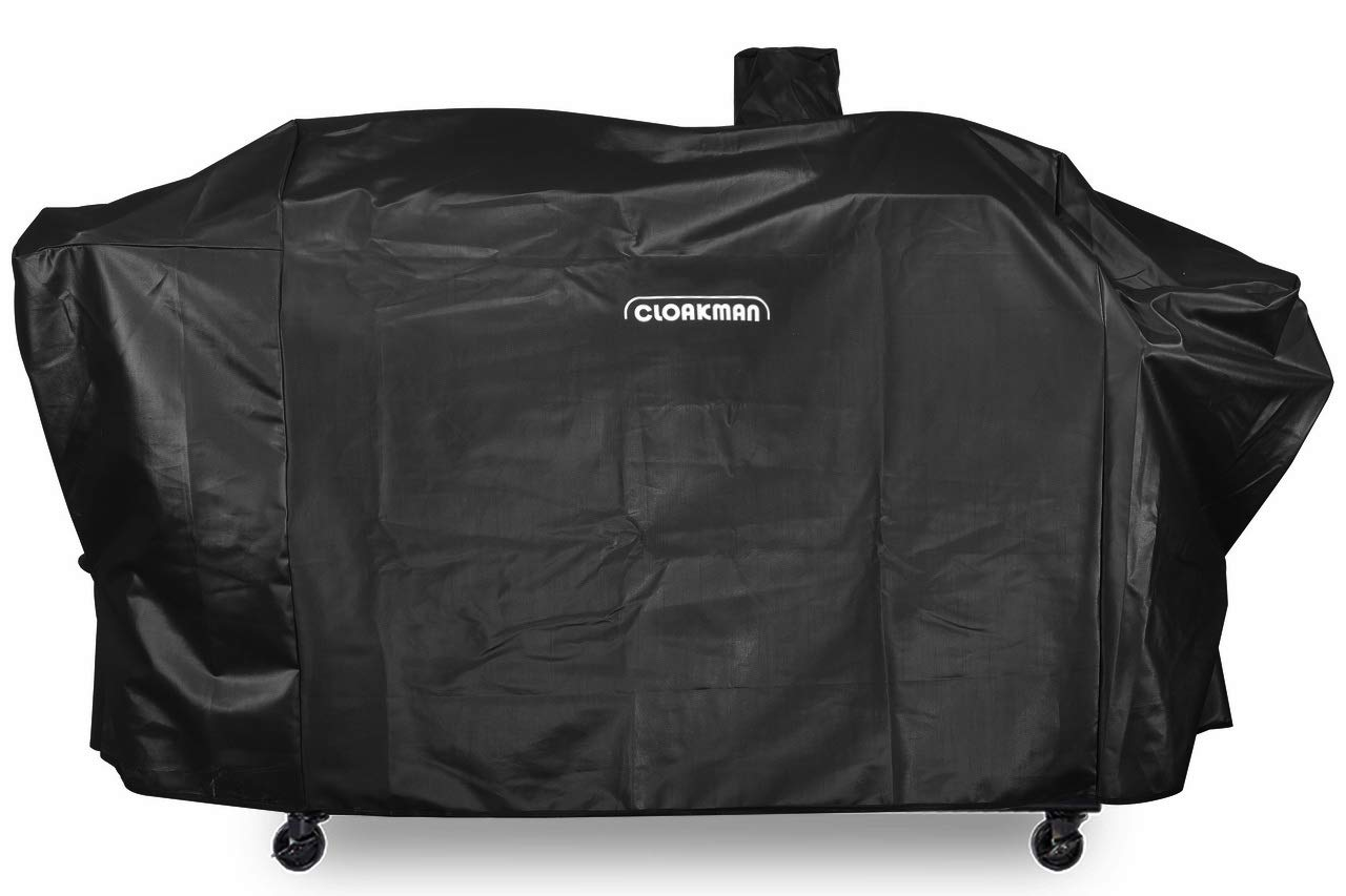 Cloakman Premium Heavy-Duty Series Pit Boss Memphis Ultimate Grill Cover and Smoke Hollow PS9900 DG1100S 4in1 Combo Grill Cover by Cloakman