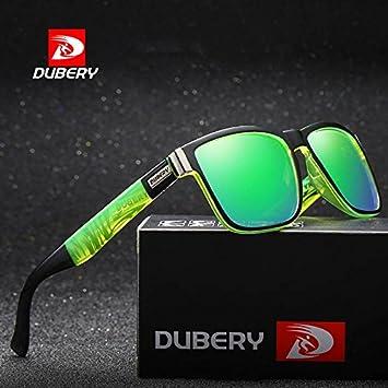 DUBERY - Gafas de Sol polarizadas para Hombre, para Deportes al Aire Libre, Senderismo, Pesca, Verano, Verde: Amazon.es: Deportes y aire libre