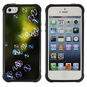 "Pulsar iFace Series Tpu silicona Carcasa Funda Case para Apple iPhone SE / iPhone 5 / iPhone 5S , Green Nature Reflexión Reflexivo"""