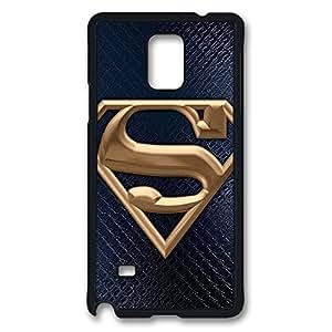 Samsung Galaxy Note 4 Case,Black Edge,Hard PC(Polycarbonate plastic)Case,Design Fashion Case,New Version Case(Can be customized),Ultra-thin case-Nice Superman Logo 13