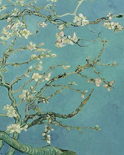Vincent Van Gogh Almond Blossoms - Dot Grid Journal: Beautiful and inspiring Van Gogh Art Bullet Grid Notebook for home, work or school. Perfect for ... creation. (Art Lovers Journal Collection) ()