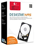 HGST DeskStar NAS 3.5' 6TB 7200 RPM 128MB Cache SATA 6.0Gb/s High-Performance Hard Drive for Desktop NAS Systems Retail Packaging 0S04007
